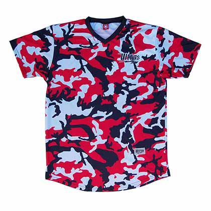 Ultras Stars & Stripes Soccer Red Jersey