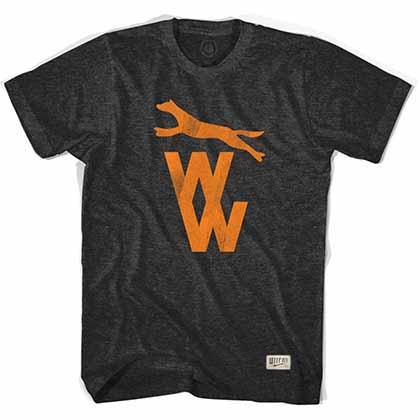 Wolverhampton Wolves Vintage Crest Soccer Black T-Shirt
