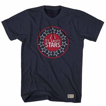 St. Louis Stars NASL Crest Blue T-Shirt