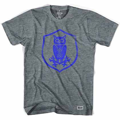 Sheffield Wednesday Owl Crest Soccer Gray T-Shirt