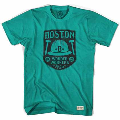 Boston Wonder Workers Soccer Green T-Shirt