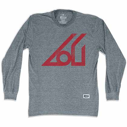 Atlanta Apollo Soccer Long Sleeve Gray T-Shirt