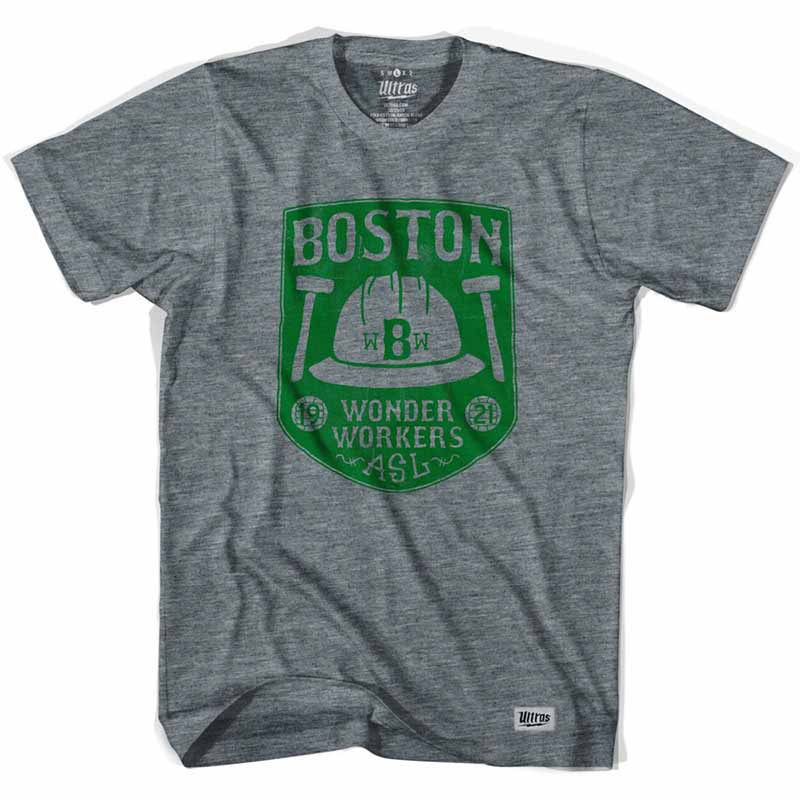 Boston Wonder Workers Soccer Gray T-Shirt