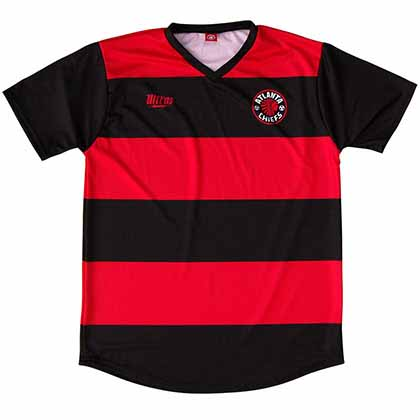 Atlanta Chiefs Soccer Red Jersey