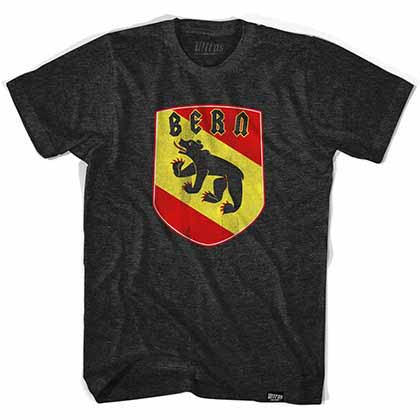 Bern Bear Crest Black T-Shirt