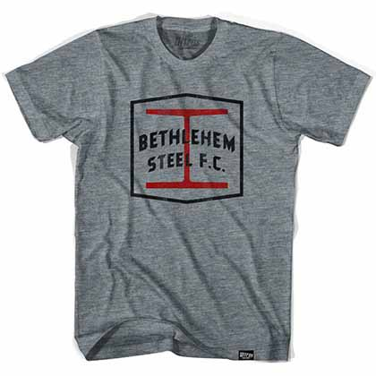 Bethlehem Steel FC Gray T-Shirt