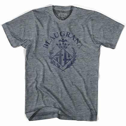 Barcelona Blaugrana Soccer Grey T-shirt