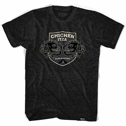Chichen Itza Futbol Club de Futbol Black T-Shirt