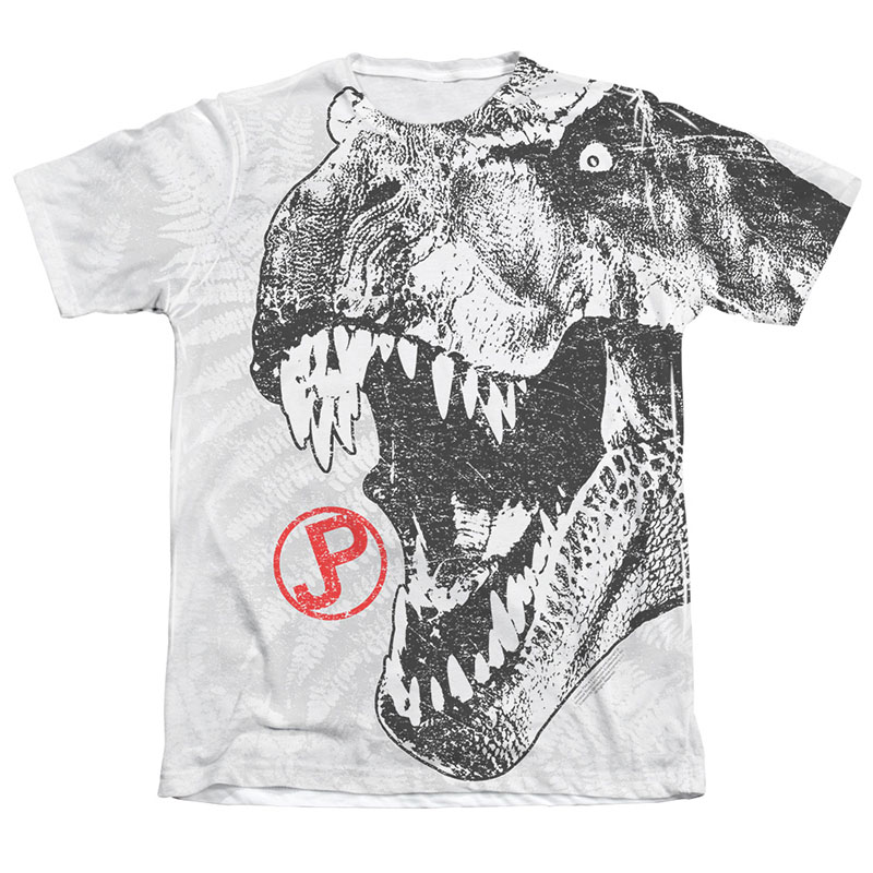 b50ce2e871950 item was added to your cart. Item. Price. Jurassic Park Men s White T-Rex  Sublimation T-Shirt