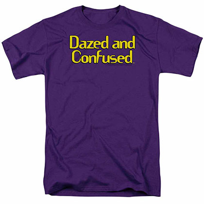 Dazed And Confused Dazed Logo Purple T-Shirt