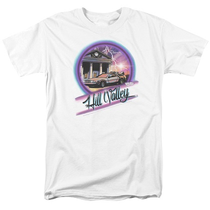 Back To The Future Hill Valley Tshirt