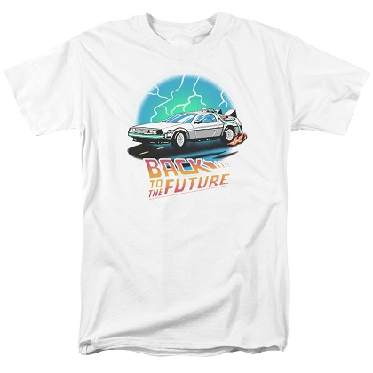 Back To The Future Airbrushed Tshirt