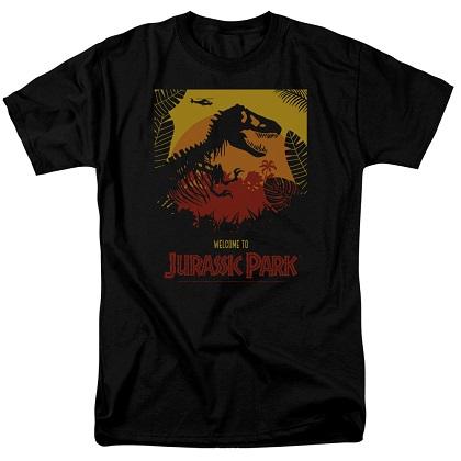 Jurassic Park Welcome Tshirt