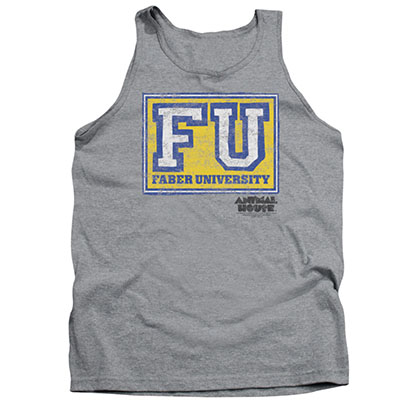 Animal House Faber University Gray Tank Top