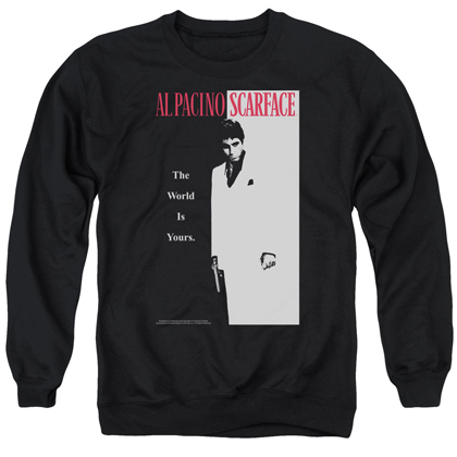 Scarface Classic Poster Crewneck Sweatshirt