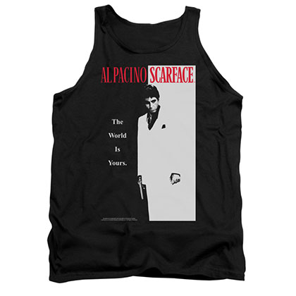 Scarface Poster Black Tank Top