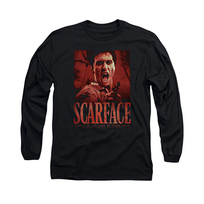 Scarface Opportunity Black Long Sleeve T-Shirt