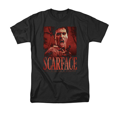 Scarface Men's Black Opportunity Tee Shirt