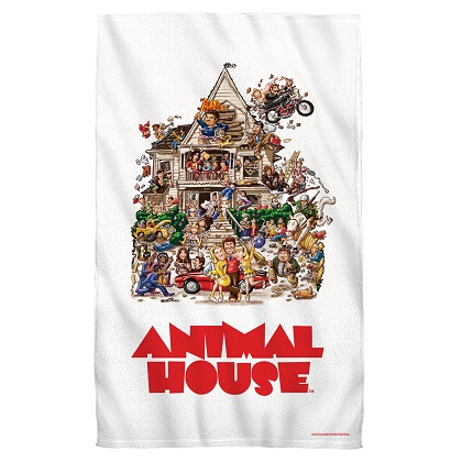 Animal House Beach Towel