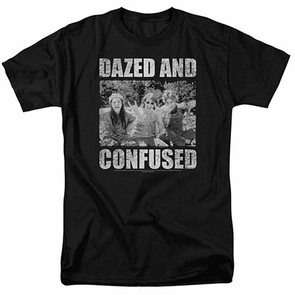 Dazed And Confused Rock On Black T-Shirt