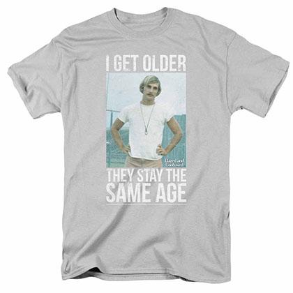 Dazed And Confused I Get Older Grey T-Shirt
