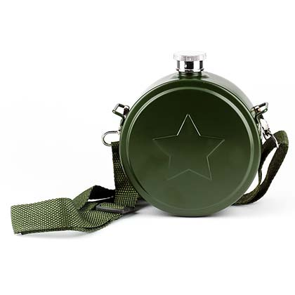 U.S. Army Green Canteen Flask