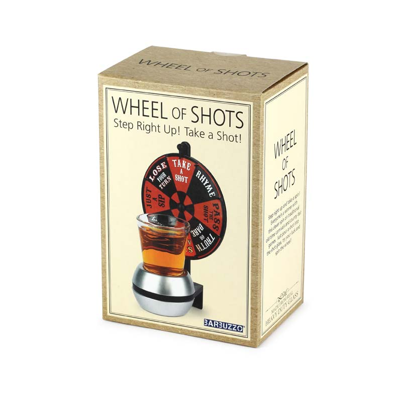 Wheel Of Shots Fun Adult Drinking Game