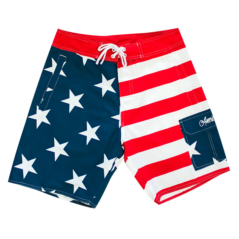 Patriotic Men's USA Board Shorts