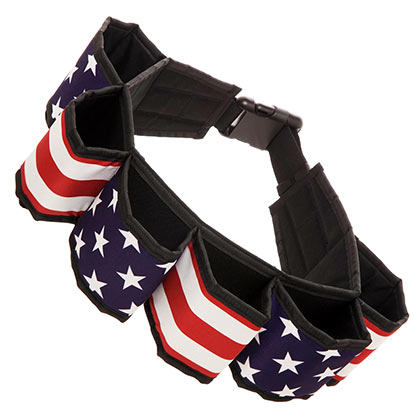Patriotic USA Beer Belt
