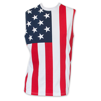 American Flag Stars And Stripes Men's Tank Top