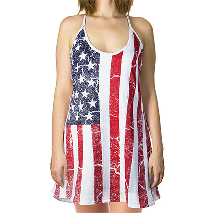 USA Women's Tank Top Dress