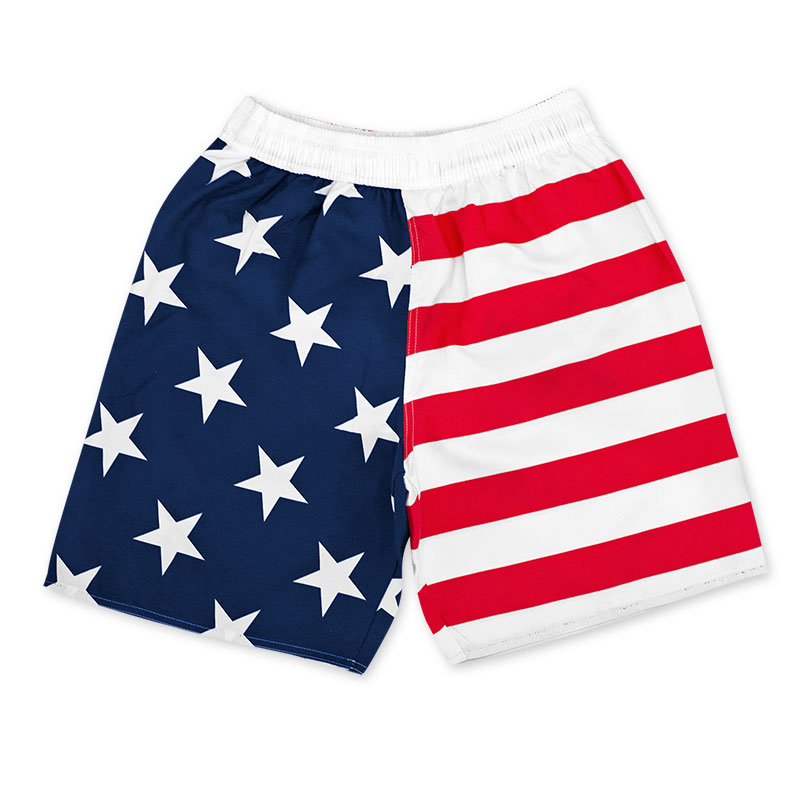 USA Red, White And Blue Boardshorts