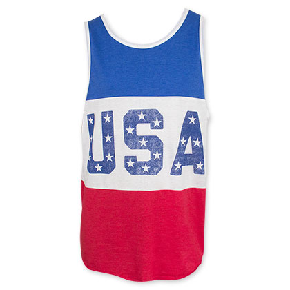 USA Patriotic Tank Top