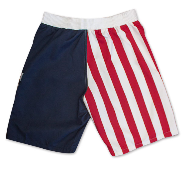 Red, White And Blue Men's USA Board Shorts