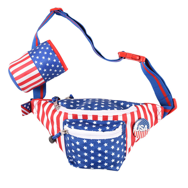 USA Beer Holster Fanny Pack