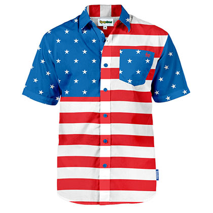 USA Patriotic Hawaiian Shirt