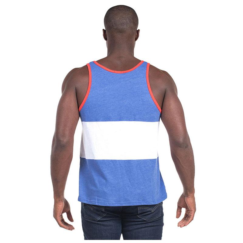 USA Men's Blue Patriotic Tank Top