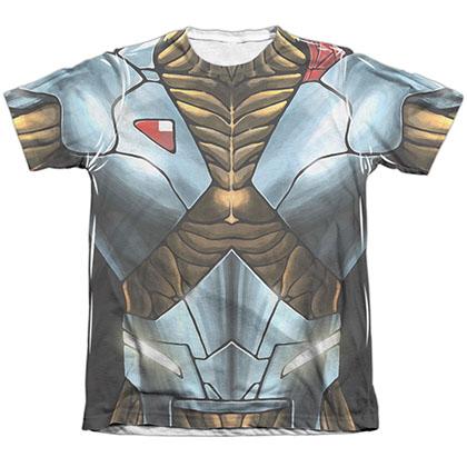 Xo Manowar Xo Armor White Sublimation T-Shirt
