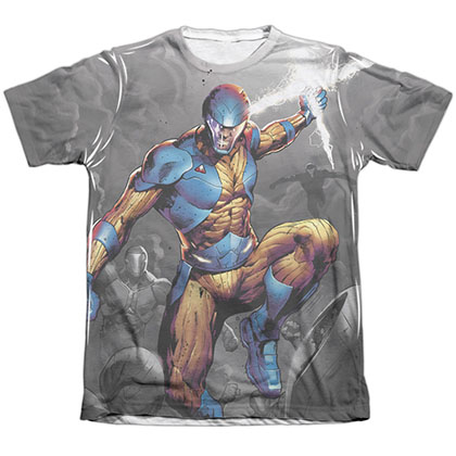 Xo Manowar Warmonger White Sublimation T-Shirt