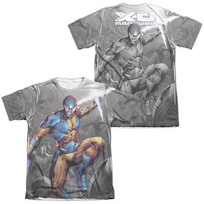 Xo Manowar Warmonger  White 2-Sided Sublimation T-Shirt