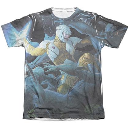 Xo Manowar Galactic Warrior White Sublimation T-Shirt