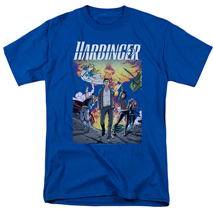 Harbinger Foot Forward Blue T-Shirt