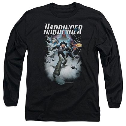 Harbinger 12 Black Long Sleeve T-Shirt
