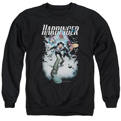 Harbinger 12 Black Crew Neck Sweatshirt