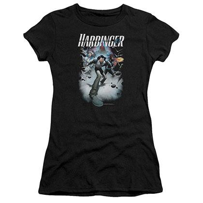 Harbinger 12 Black Juniors T-Shirt