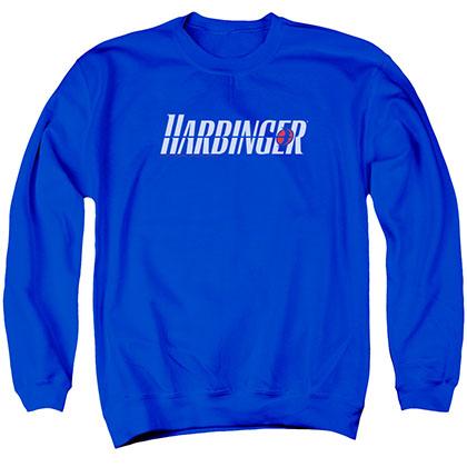 Harbinger Logo Blue Crew Neck Sweatshirt