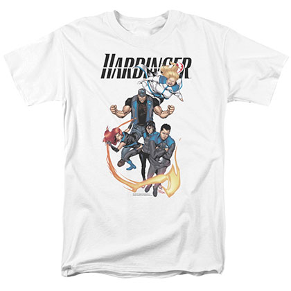 Harbinger Vertical Team White T-Shirt
