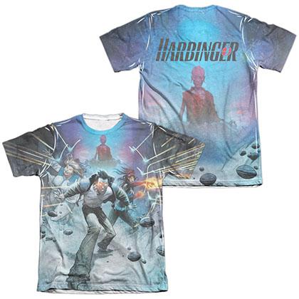 Harbinger Eyes  White 2-Sided Sublimation T-Shirt