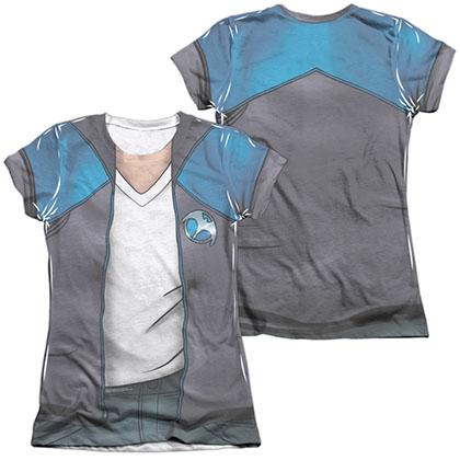 Harbinger String Uniform  White 2-Sided Juniors Sublimation T-Shirt