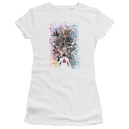 Valiant Everybodys Here White Juniors T-Shirt